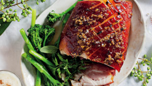 Honey-mustard gammon