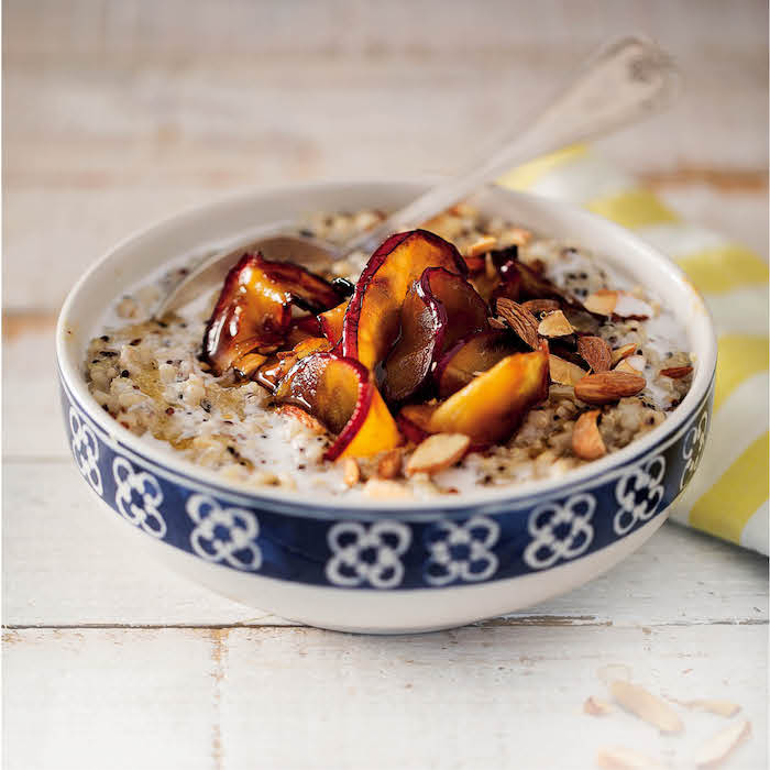 Multigrain apple porridge