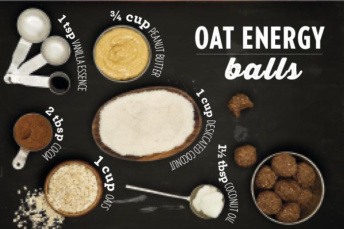 Oat Energy Balls