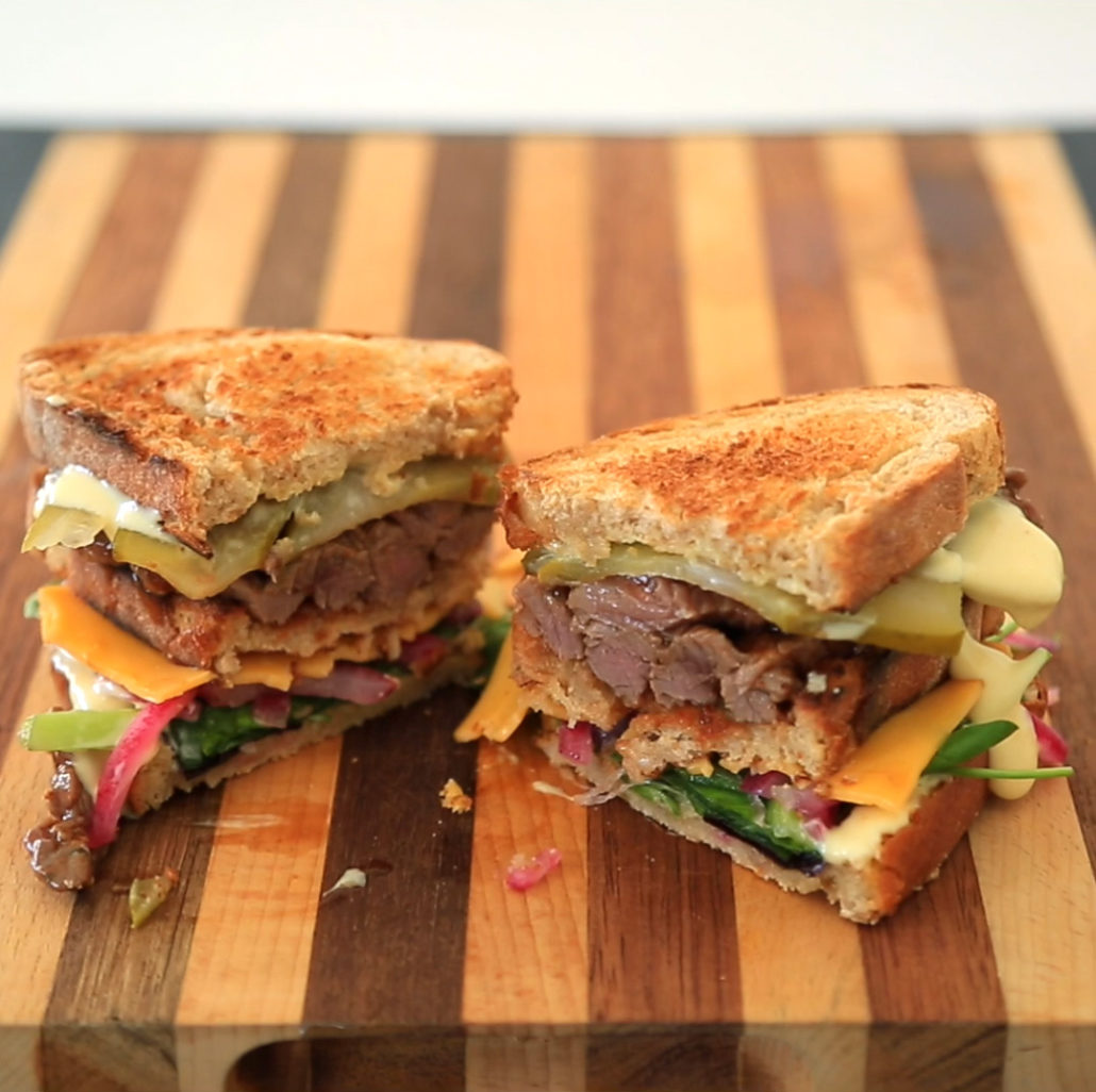 Steak sarmie