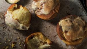 Brown-butter pumpkin cinnamon rolls