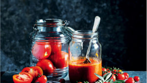 All about the base: Thick tomato stew