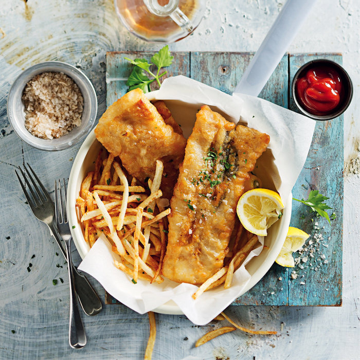 Soda water battered fish and chips on mykitchen.co.za