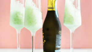 Apple granita and sparkling wine on mykitchen.co.za