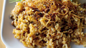 Brown rice pilaf on mykitchen.co.za