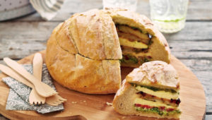Caprese picnic loaf on mykitchen.co.za