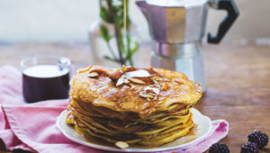 Chai spiced sweet potato pancakes on mykitchen.co.za