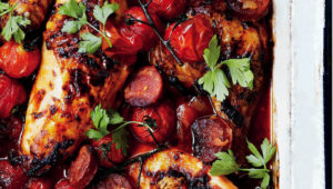 Chicken and chorizo bake on mykitchen.co.za