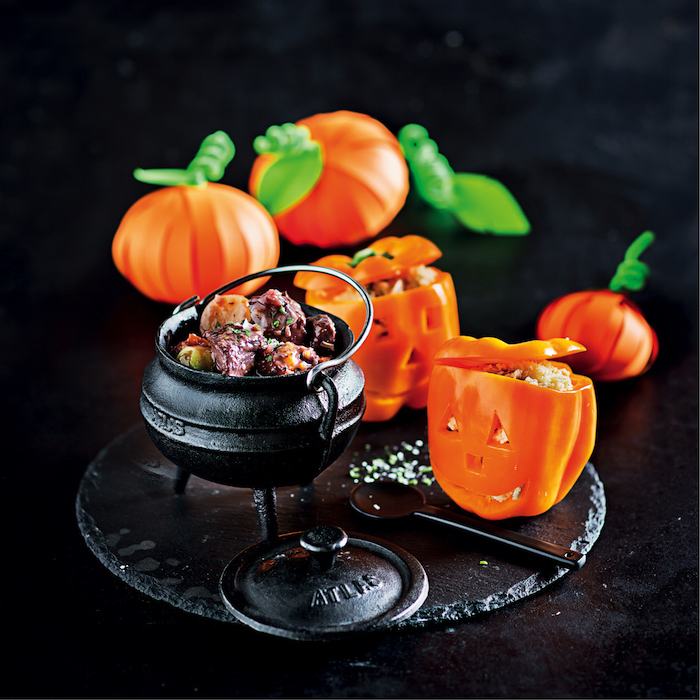 A very delicious Halloween party