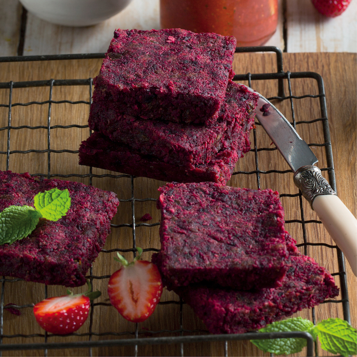 Wellness Wednesday: Raw beetroot and carrot squares