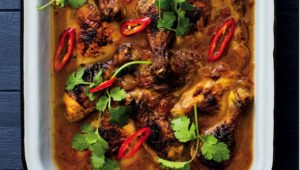 Spicy Moroccan chicken