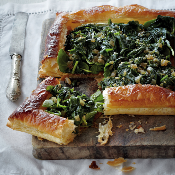 Spinach tart on mykitchen.co.za