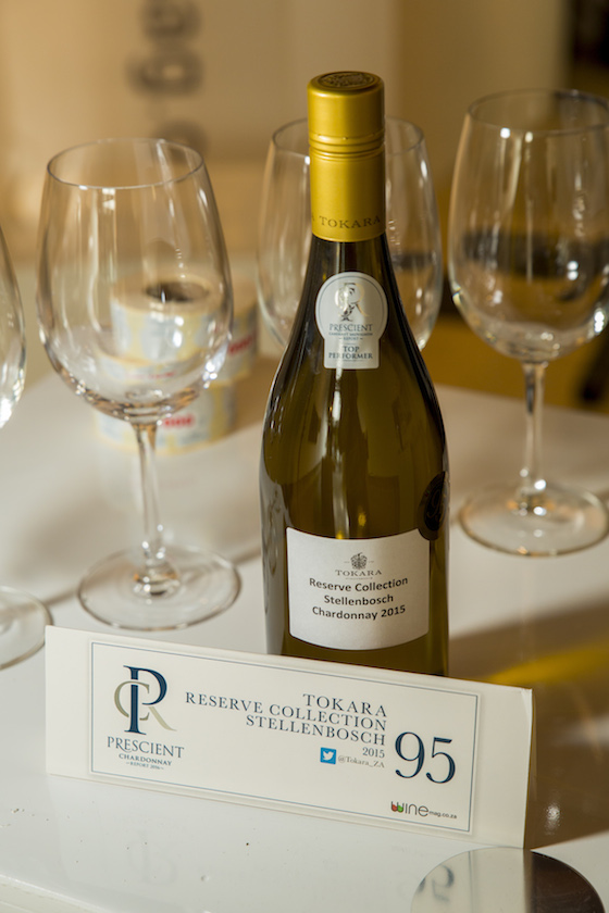 Chardonnay tasting with the Prescient Chardonnay Report 2016