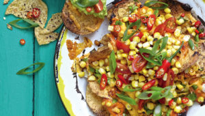 Vegetarian nachos on mykitchen.co.za