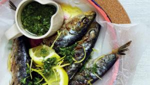 Braaied sardines