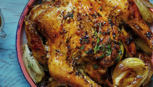 Lemony roast chicken on mykitchen.co.za