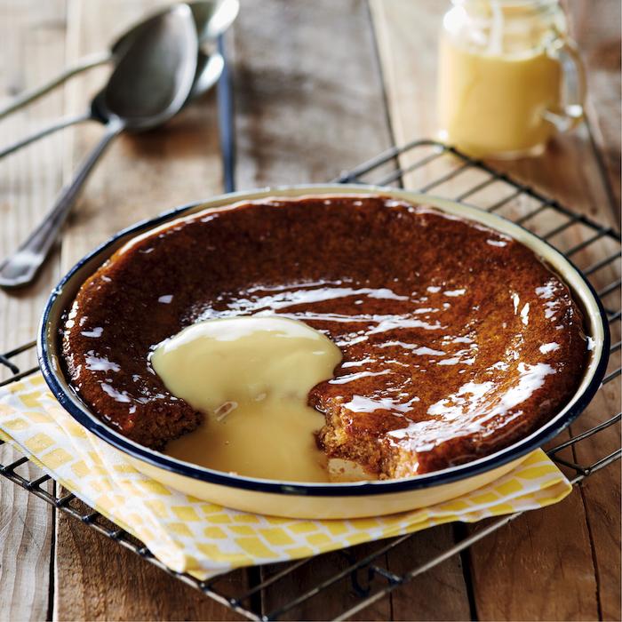 Maize malva pudding
