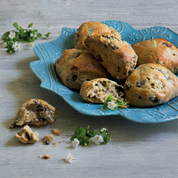 Mushroom and thyme scones