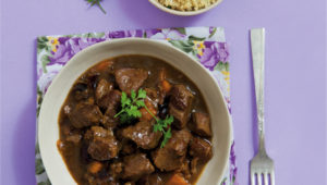 Orange and lamb tagine