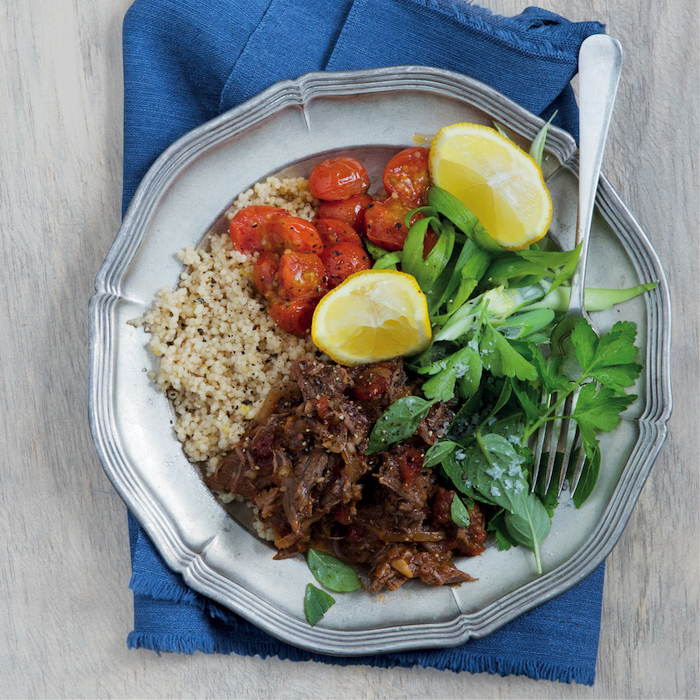 beef and couscous