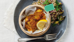 spiced fish