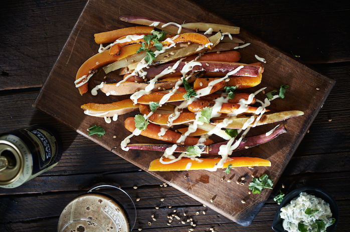 Stout root fries