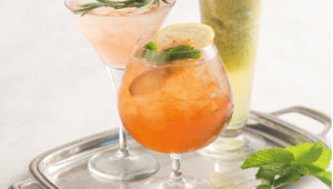 3 healthy cocktails