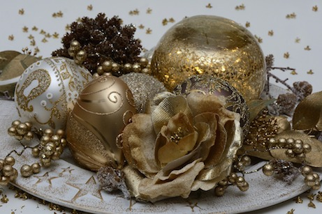 Affordable festive decorating