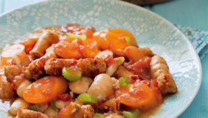 Bean and sausage stew