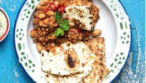 Chicken and white bean chilli