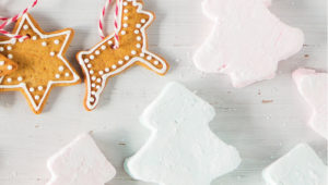 Festive marshmallows