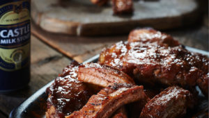 Sticky stout ribs