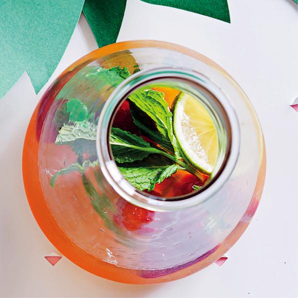 Tipsy rooibos iced tea