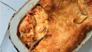 Smoked haddock pie