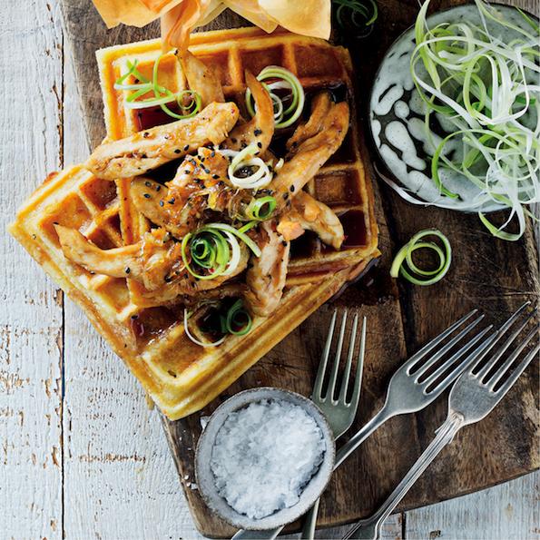 Teriyaki Kitchen: Teriyaki Waffles