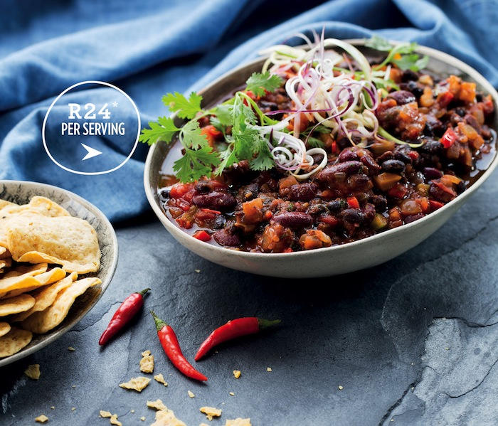 Spicy bean Chilli