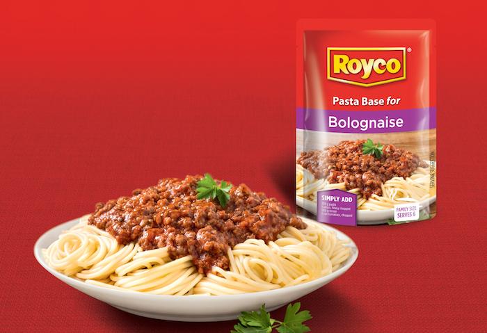Royco's spaghetti Bolognese