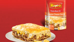 Royco's lasagne
