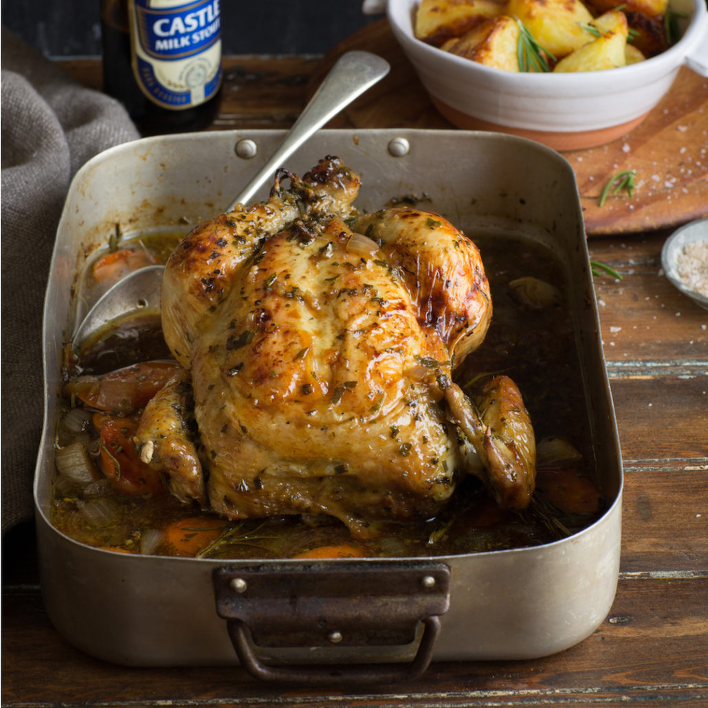 Sam Linsell's roast chicken