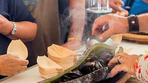 Kelp mussels