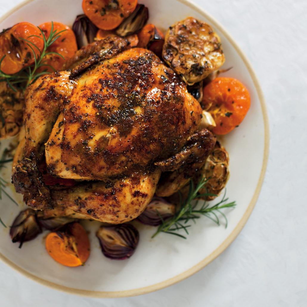 Naartjie grilled chicken