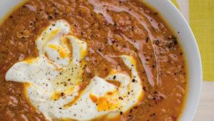 Quick spiced dal soup