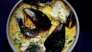 West Coast seafood soup