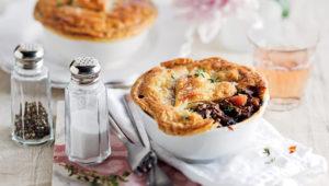 Wine-braised-beef pies