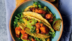 Coconut fish tacos with pineapple salsa