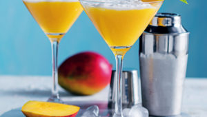 Mango-coconut daiquiris