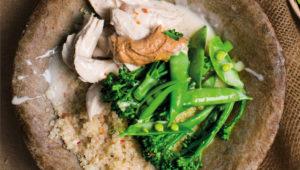 Chicken and quinoa bowl