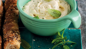 Tangy onion dip