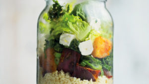 The ultimate mason jar salad