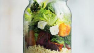 The ultimate mason jar salad